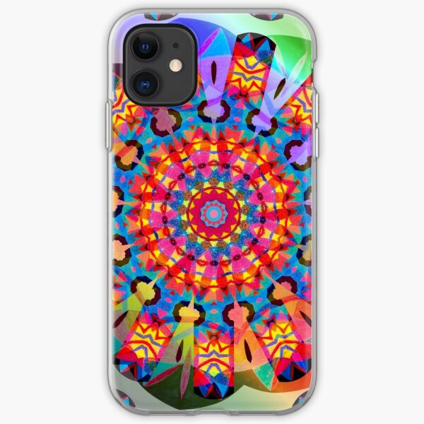 Colors and Blooms iPhone Soft Case