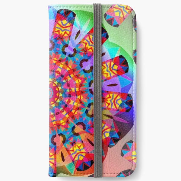 Colors and Blooms iPhone Wallet