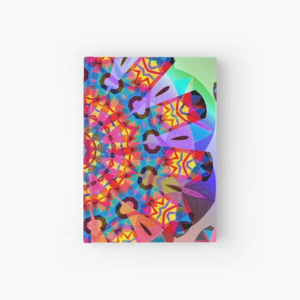 Colors and Blooms Hardcover Journal