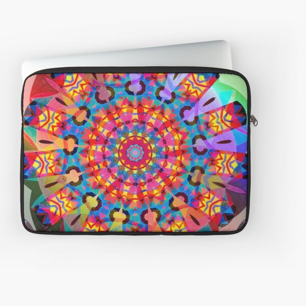 Colors and Blooms Laptop Sleeve