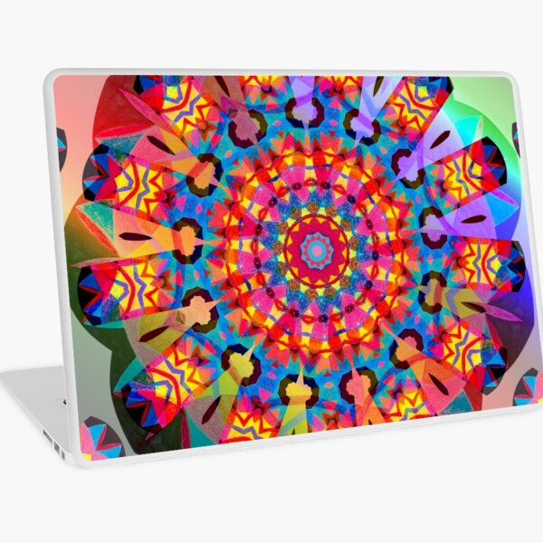 Colors and Blooms Laptop Skin