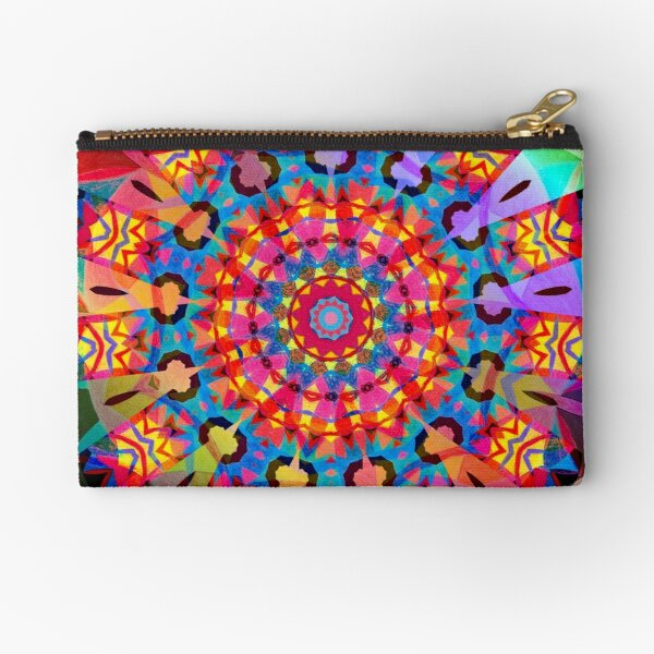 Colors and Blooms Zipper Pouch