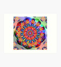 Colors and Blooms Art Print