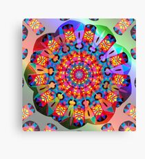 Colors and Blooms Canvas Print