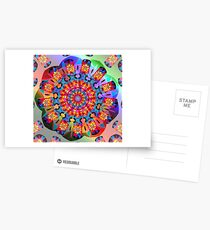 Colors and Blooms Postcards