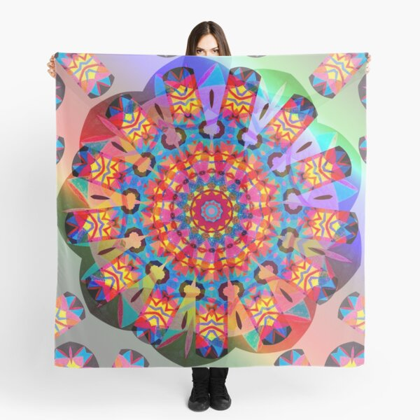 Colors and Blooms Scarf