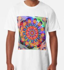 Colors and Blooms Long T-Shirt