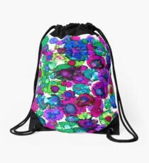 Happy Bug Drawstring Bag