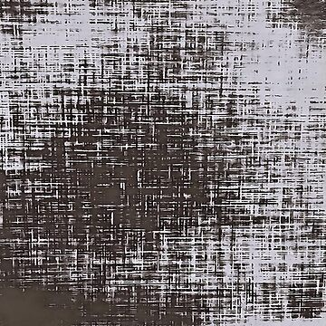 Woven Grey Abstract by taiche