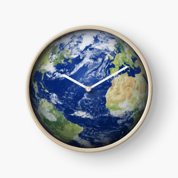 #map #sphere #environment #cartography #atmosphere #hemisphere #pollution #longitude #space #colorimage #planetspace #astronomy #360degreeview #wide #continentgeographicarea #physicalgeography Clock