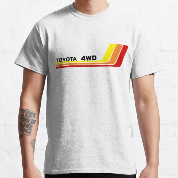 Vintage Racing Stripes Toyota 4WD  Classic T-Shirt