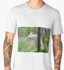 Sulphur-Crested Cockatoo Men's Premium T-Shirt