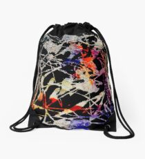 A mess Drawstring Bag