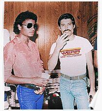 Freddie & Michael Poster
