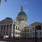 The Old Saint Louis Courthouse by Jack McCabe