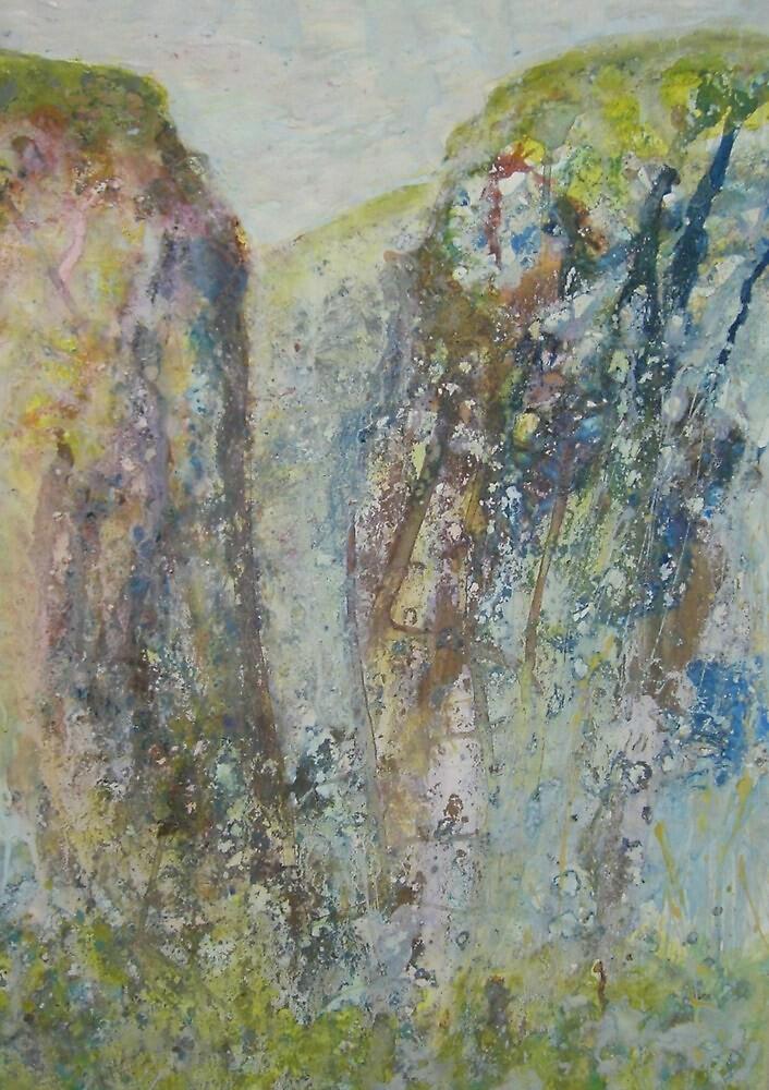 Gordale Scar 2 by Susan Duffey