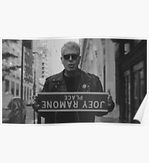 Anthony Bourdain Ramones Poster