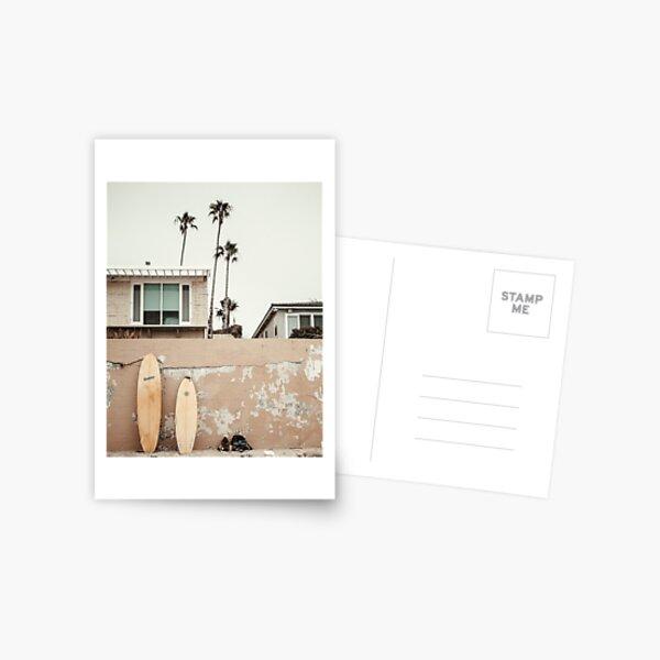 San Diego Surfing Postcard