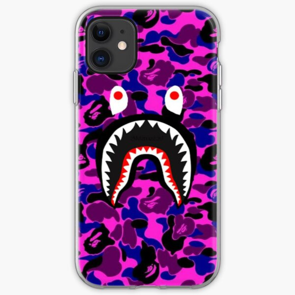 Purple Army iPhone Soft Case