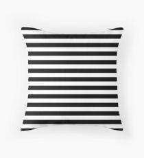 black stripes Floor Pillow