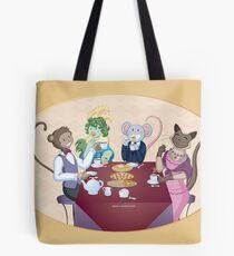 Animal Tea Party Tote Bag