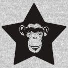 Monkey Superstar by matthewdunnart
