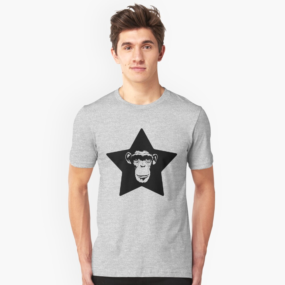 Monkey Superstar Slim Fit T-Shirt