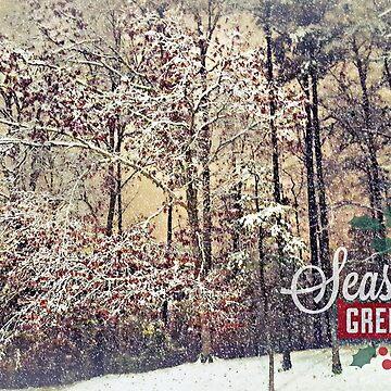 Woodland Season's Greetings by Happyhead64