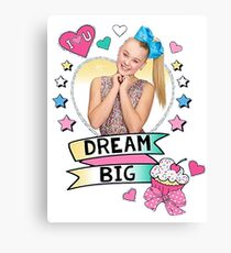 jojo siwa dream big Canvas Print