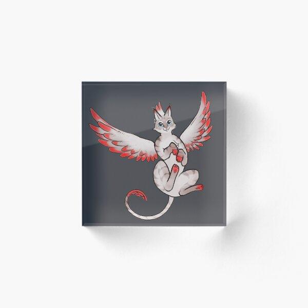 Aurora - Phoenix Cat Acrylic Block