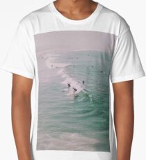 Venice Beach California Surfing Long T-Shirt