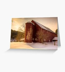 Vermont Afternoon Greeting Card