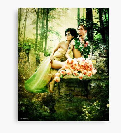 midsummer lovers  Canvas Print