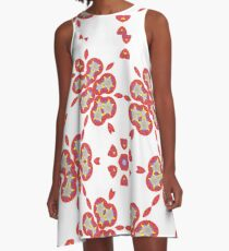 Melons and Bananas A-Line Dress