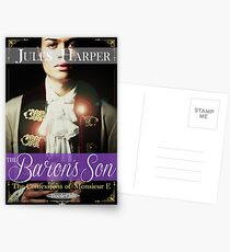 The Confessions of Monsieur E - The Baron's Son - Book 1 - promo book items Postcards