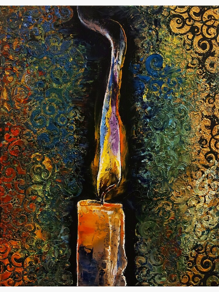 Candle Flame by michaelcreese