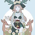 Achlys Witch - Inktober Day 6 by Weiliepew