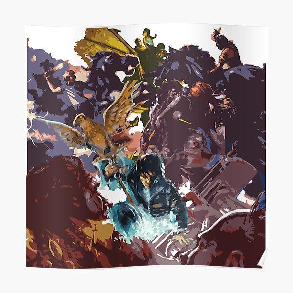 Heroes of Olympus Cover Compilación Póster