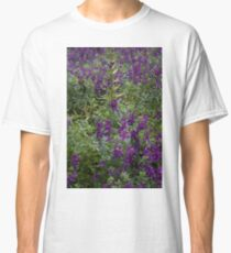 Bunches of Purple Flowers Classic T-Shirt