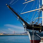Balclutha & Golden Gate by Yukondick