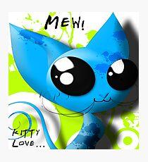 Mew! Photographic Print