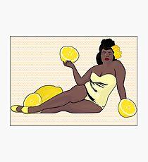Nina Lemon Photographic Print