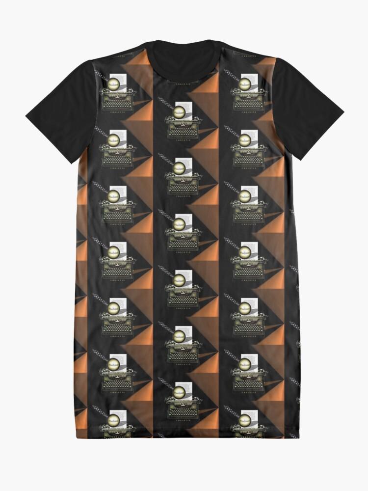 Alternative Ansicht von Agatha Christie kennt Whodunnit! T-Shirt Kleid