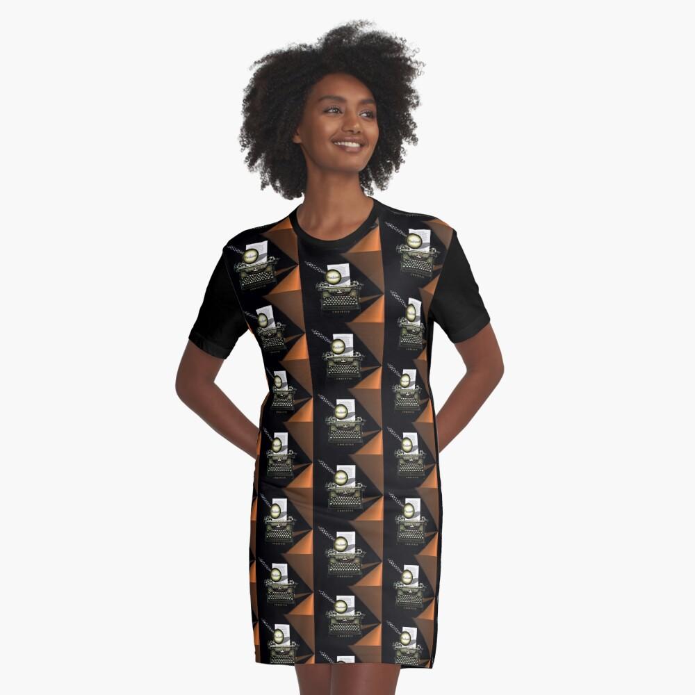 Agatha Christie kennt Whodunnit! T-Shirt Kleid