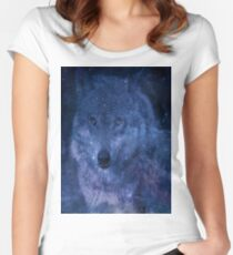 The Spirit of the Wolf Women's Fitted Scoop T-Shirt