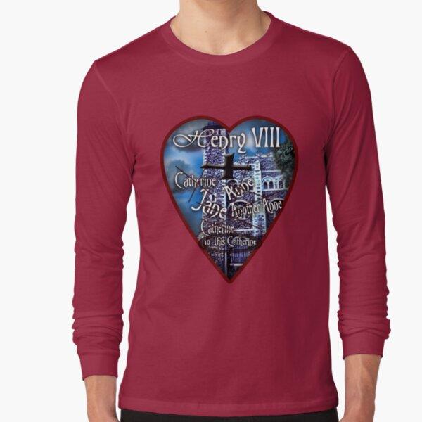 Henry VIII Valentine Shirt Long Sleeve T-Shirt