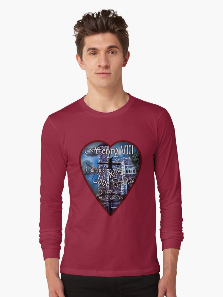 Henry VIII Valentine Shirt by bloomingvine
