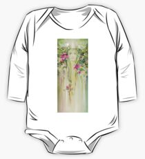 """Blossoming Spring (Crab apple)"" from the series ""Eight Seasons of the Year"" One Piece - Long Sleeve"