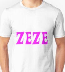 Zeze Pink Unisex T-Shirt