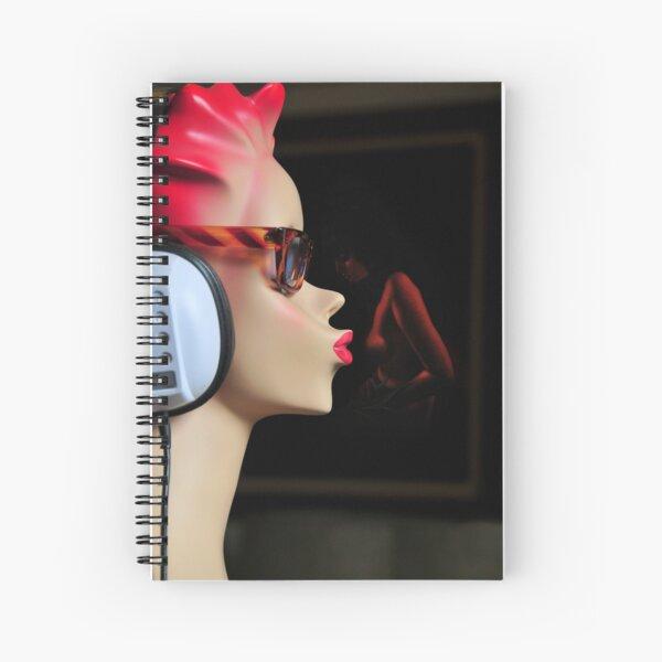 Lady Kiss Spiral Notebook